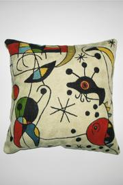 Terston Chain Stitch Pillow - Product Mini Image