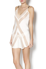 Lola Haze Chevron Slip dress - Product Mini Image