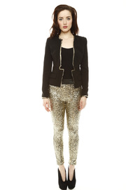 Do & Be Sequin Leggings - Front full body