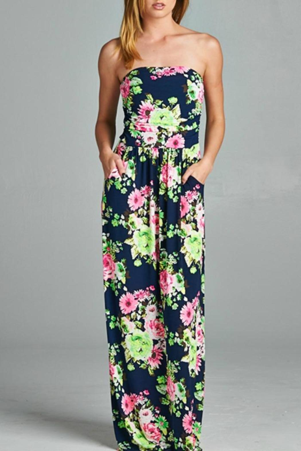 Blush Boutique Aloha Maxi Dress - Main Image