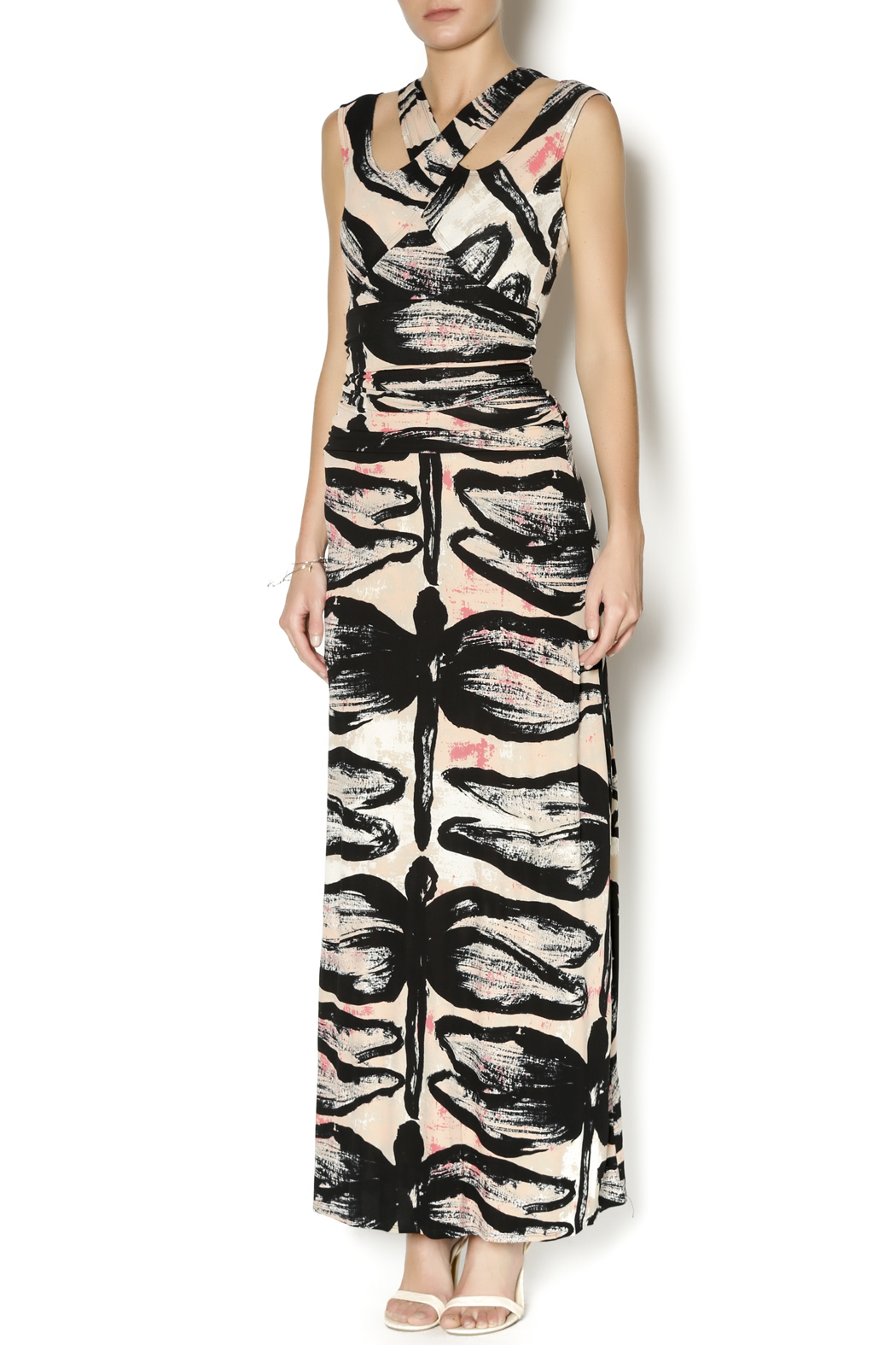 Tracy Reese Dragonfly Maxi Dress Front Cropped Image