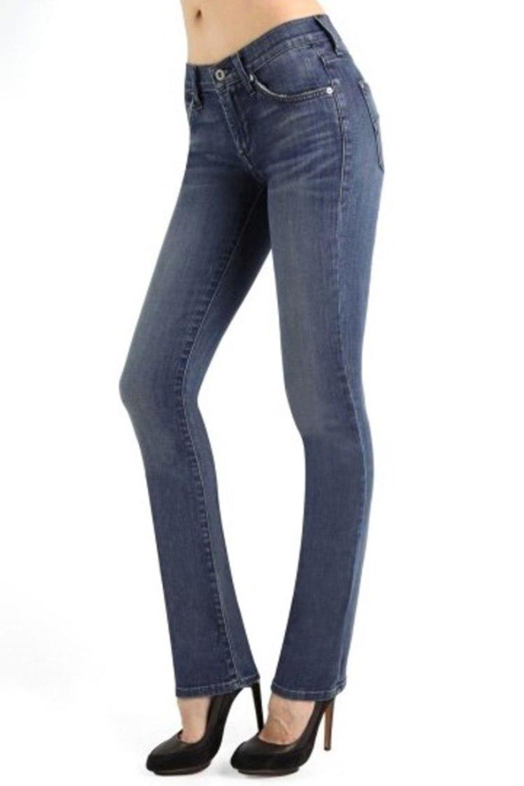 James Jeans High Rise Straight - Front Full Image
