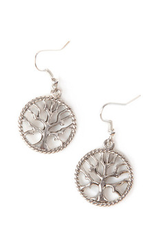 Bliss by Nikki G Tree of Life Earrings - Product List Image