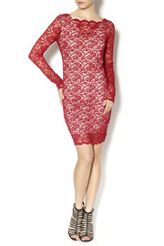 Double Zero Shiraz Lace Dress - Front full body