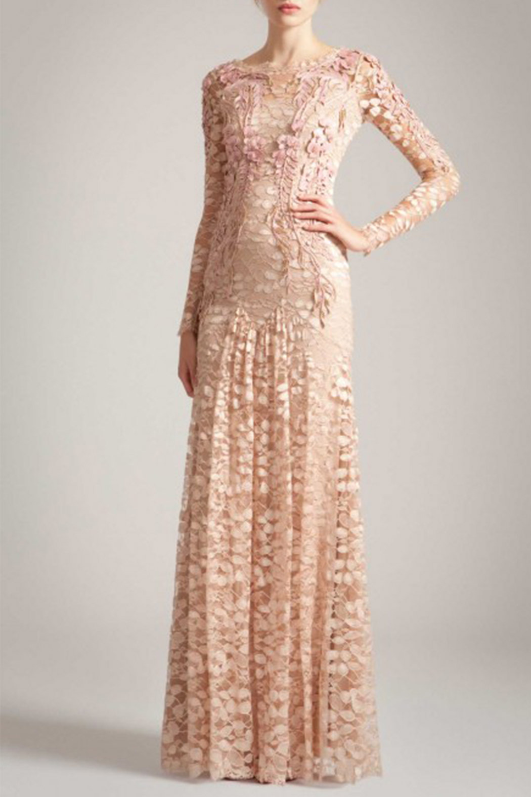 Temperley London Temperley Long Tattoo Dress - Main Image