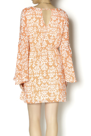 KLD Signature Bell Sleeve Dress - Back cropped