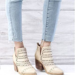 Shoptiques Laser Cut Booties