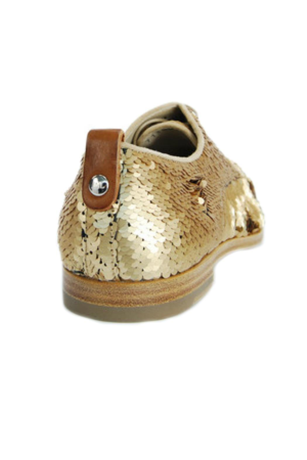 AGL  Bronze Sequin Brogue - Side Cropped Image