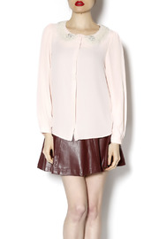 Renee C Fancy Me Blouse - Front cropped