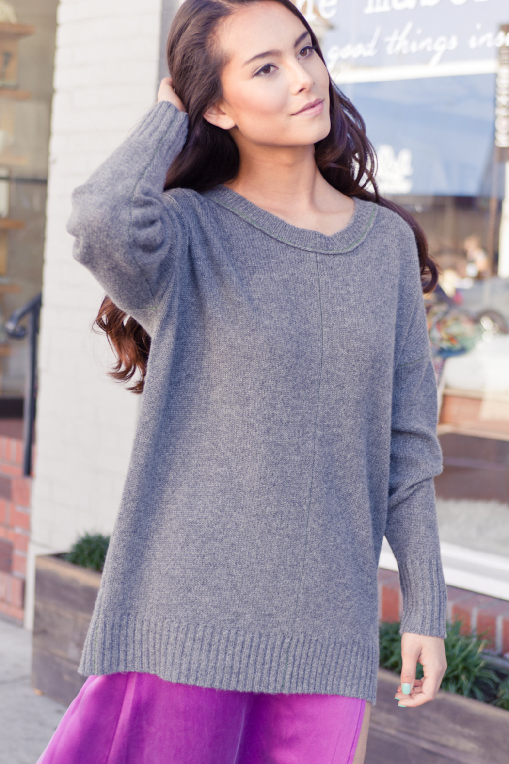 27 Miles Malibu Boyfriend Style Sweater from Marina by Wh!te Label ...