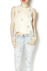 Chaser Embellished Muscle Tank - Front cropped