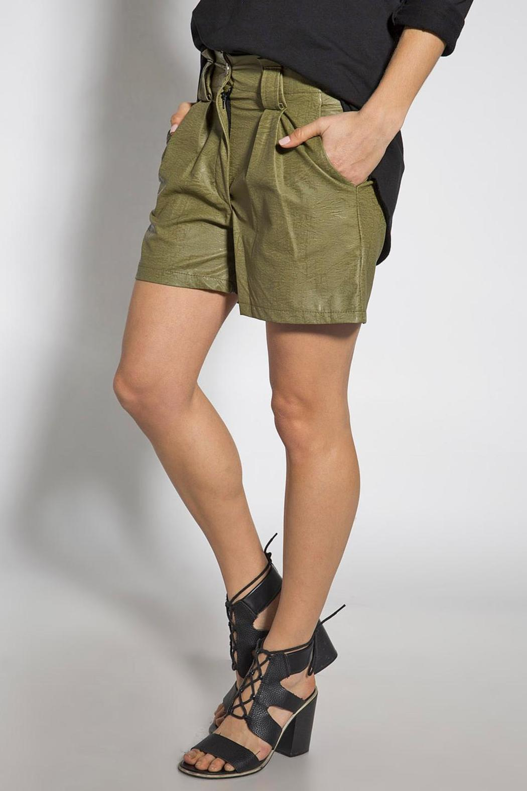 b774a32c9450be B mine Faux Leather Short from Tel Aviv by Bmine — Shoptiques