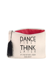 B Plus Printworks Dance First Pouch - Front cropped