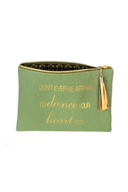 B Plus Printworks Canvas Cosmetic Pouch - Product Mini Image