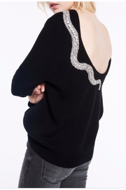 BA&SH Ofraa Snake Sweater - Product Mini Image