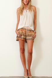 Shoptiques Product: Zig-Zag Print Shorts