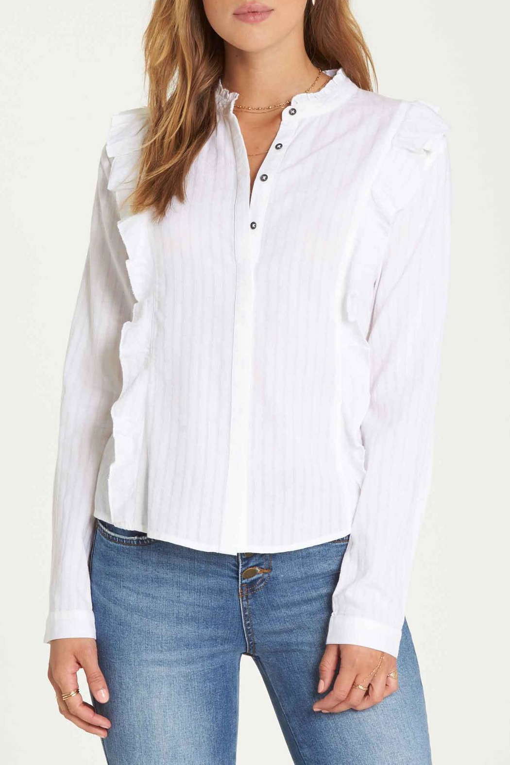 Billabong Babe Button Down - Back Cropped Image