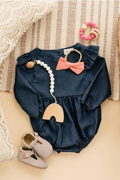 Babe Basics Chambray Baby Romper - Product List Image