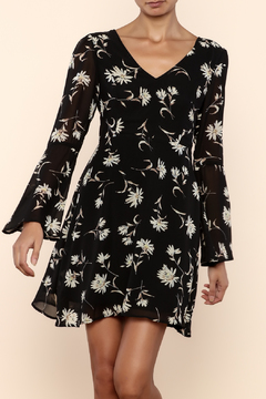 Shoptiques Product: Floral Bell Sleeve Dress