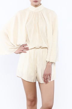 Shoptiques Product: Grecian Pleated Playsuit