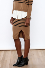 Shoptiques Product: Knit Stripe Skirt