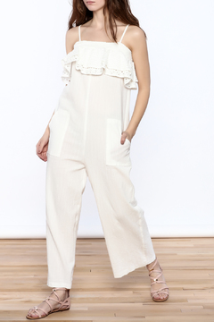 Shoptiques Product: Oversized Gauze Jumpsuit