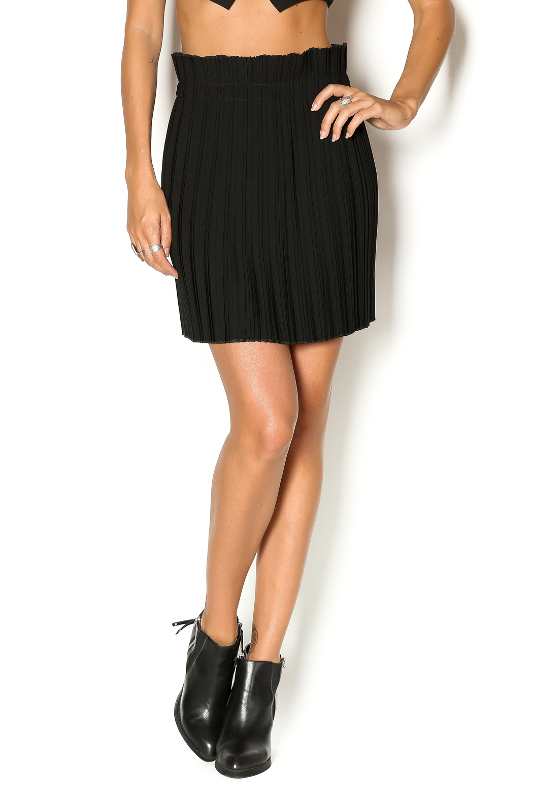Babel Fair Pleated Mini Skirt from Williamsburg by Babel ...