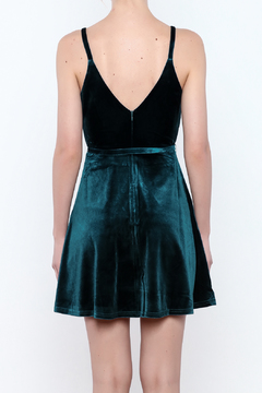 Shoptiques Product: Ruffle Velvet Dress