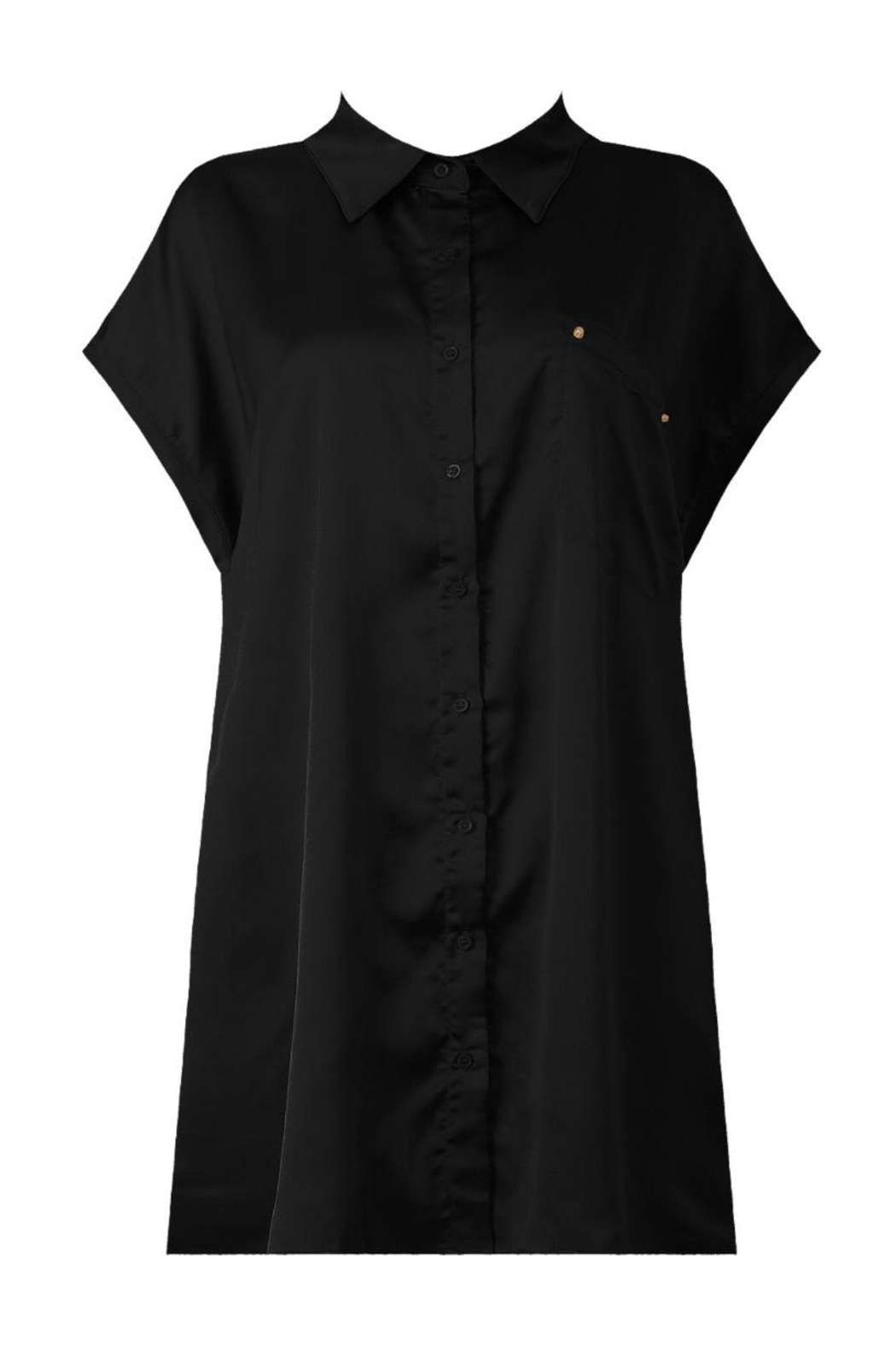 Babez london pleated shirt dress from alberta by house of for Black pleated dress shirt