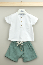 Babidu Ella Collection Short Sleeve Shirt & Short Trouser - Product Mini Image