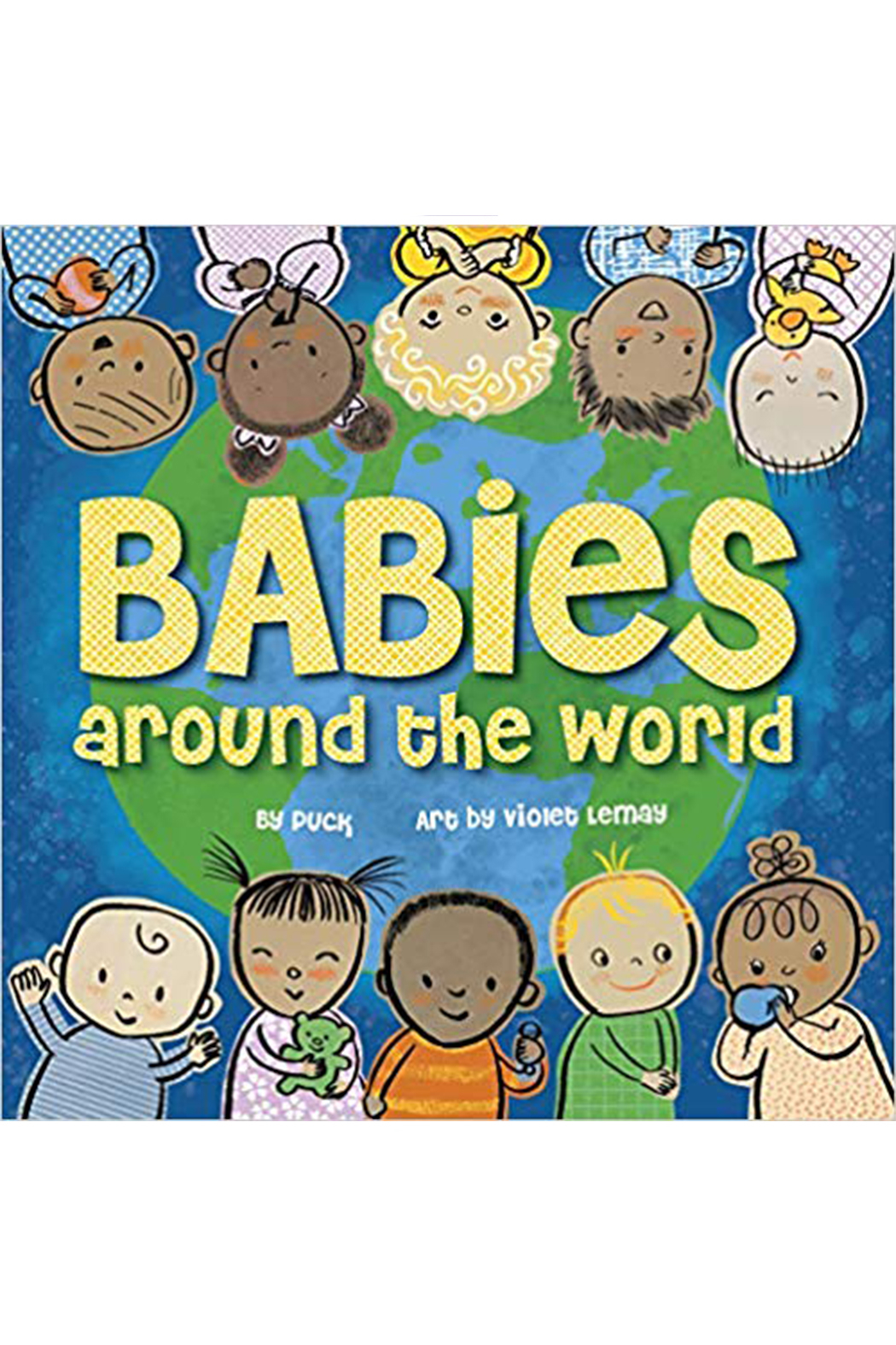 Houghton Mifflin Harcourt  Babies Around The World - Front Cropped Image