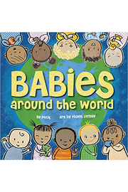 Houghton Mifflin Harcourt  Babies Around The World - Front cropped