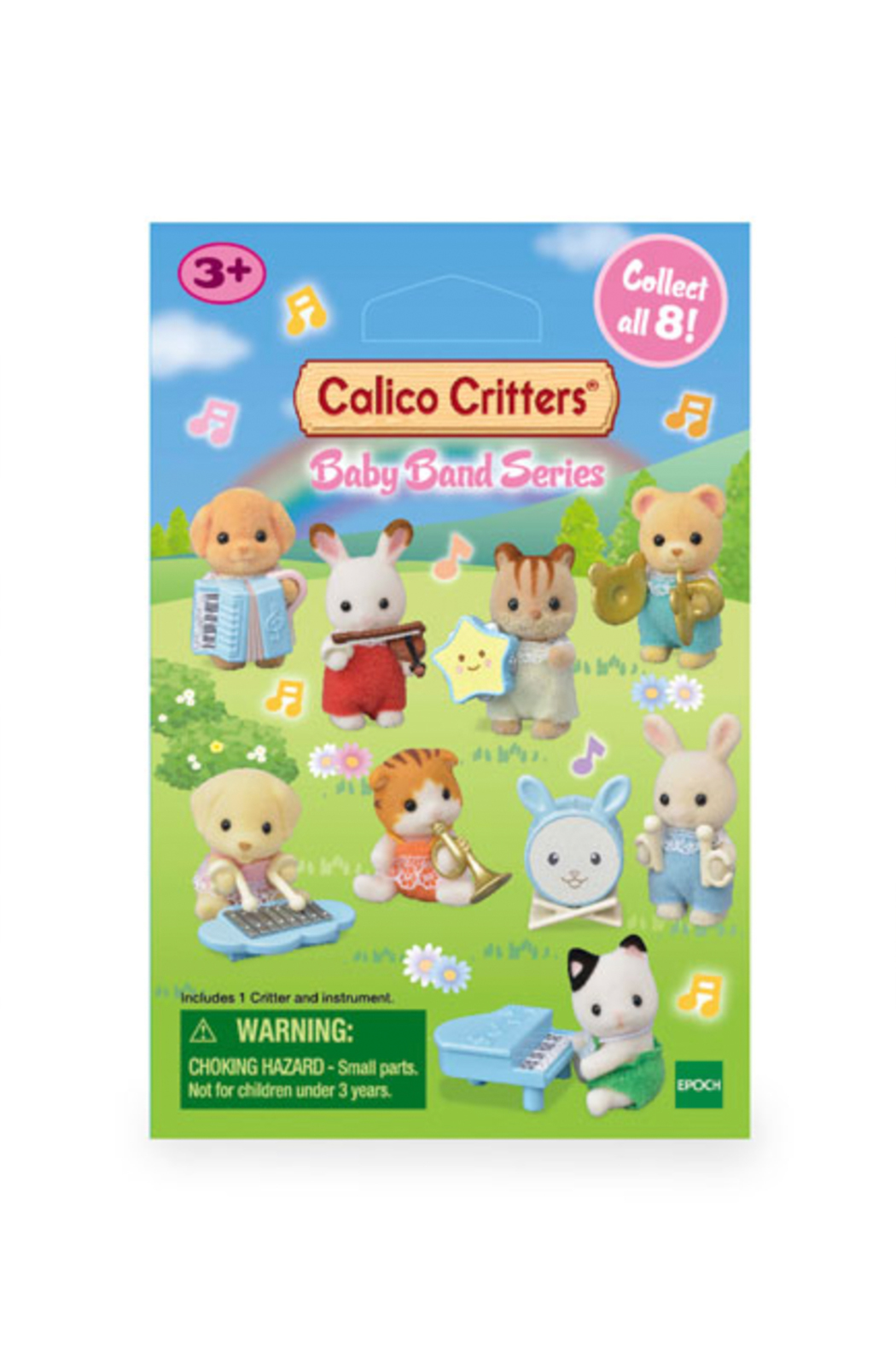 Calico Critters Baby Band Series - Front Full Image