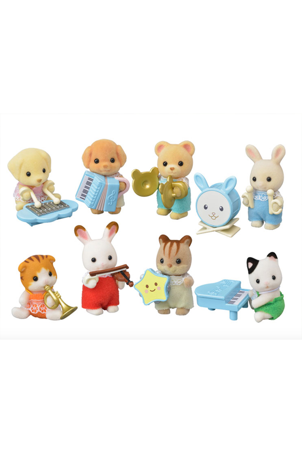 Calico Critters Baby Band Series - Main Image