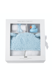 Mud Pie Baby Bath Time Set - Side cropped