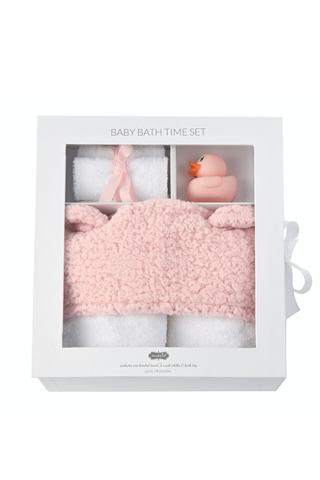 Mud Pie Baby Bath Time Set - Front Full Image