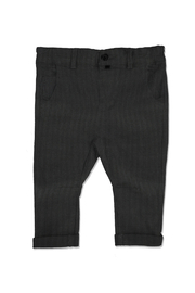 Me & Henry Baby Black Dogtooth Woven Trousers - Product Mini Image