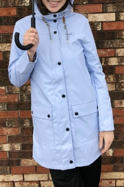 Tom Tailor Baby Blue Raincoat - Product Mini Image