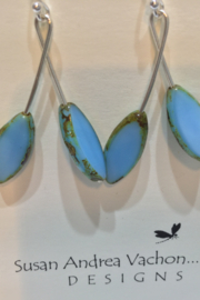 438-1001 Baby Blues Branch earrings - Product Mini Image