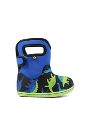 BOGS Baby Bogs Dino Waterproof Boots - Front cropped