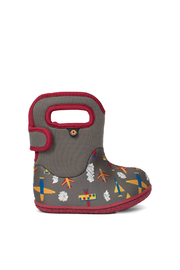 BOGS Baby Bogs Gray Plane Waterproof Boots - Product Mini Image