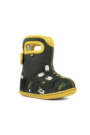 BOGS Baby Bogs Loden Farm Waterproof Boots - Front full body