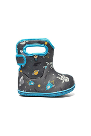 bogs  Baby Bogs Waterproof Winter Boots - Spaceman - Product Mini Image