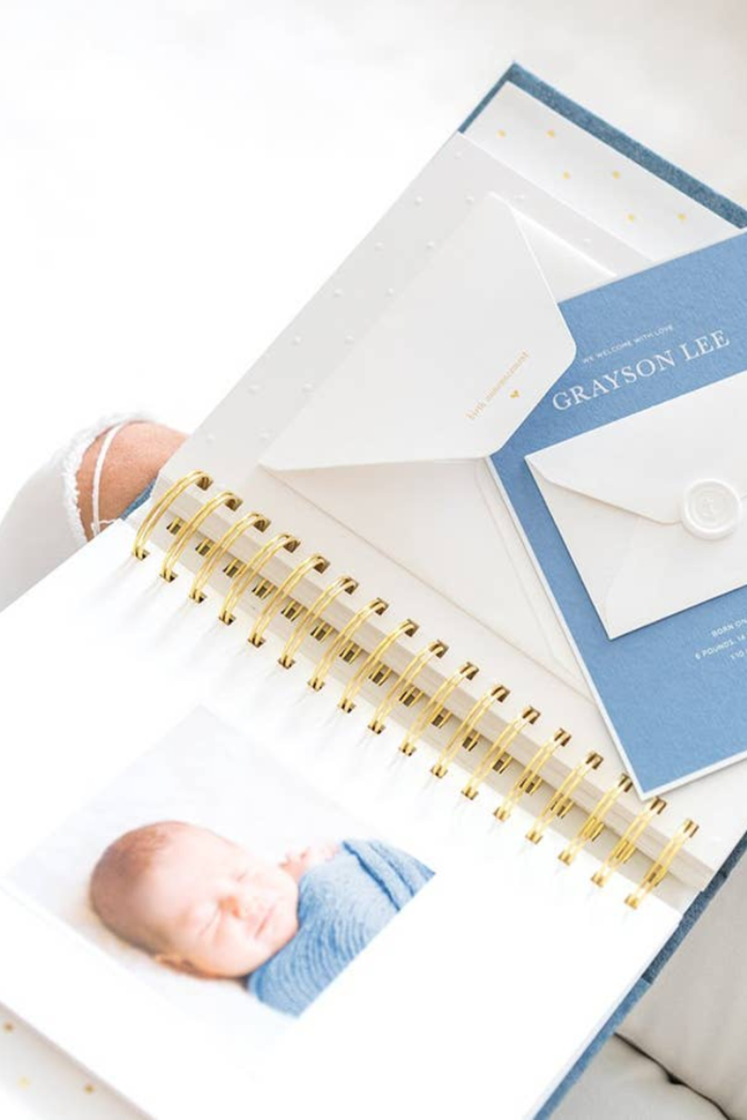 Sugar Paper Baby Book - Front Full Image
