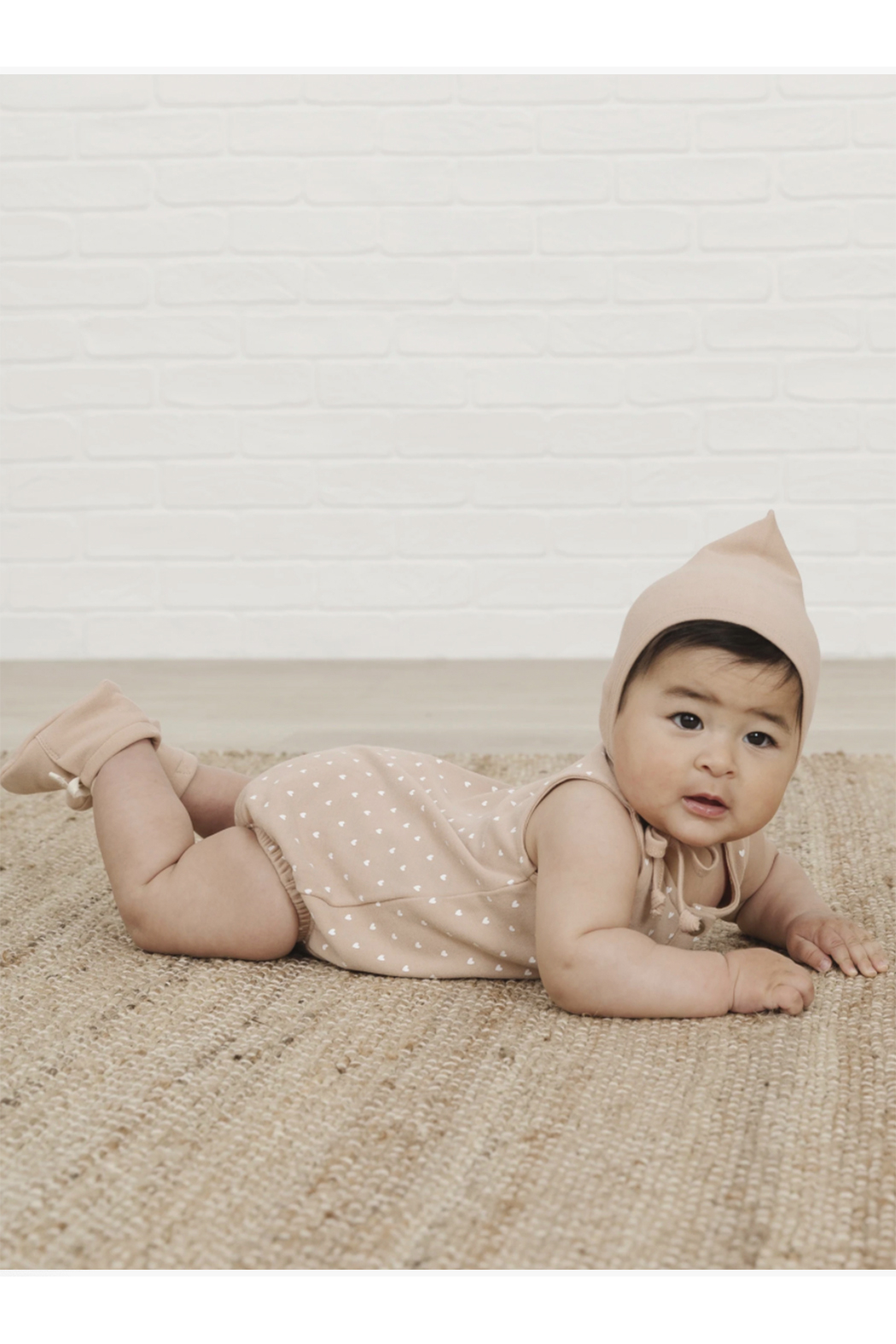 Quincy Mae Baby Booties - Front Full Image