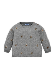 Mayoral Baby-Boy-Bulldog-Embroidered-Sweater - Front cropped