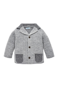Shoptiques Product: Baby-Boy Elbow-Patch Cardigan