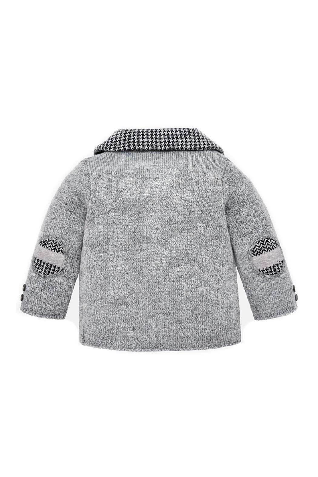 Mayoral Baby-Boy Elbow-Patch Cardigan - Side Cropped Image