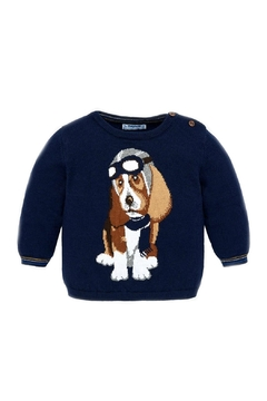 Shoptiques Product: Baby-Boy-Fighter-Pilot-Dog-Sweater