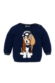 Mayoral Baby-Boy-Fighter-Pilot-Dog-Sweater - Front cropped